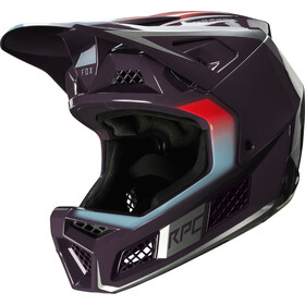 Fox Rampage Pro Carbon Daiz Helm Herren dark purple